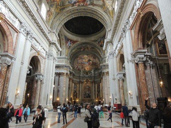 Chiesa di Sant'Ignazio di Loyola: Detalhe interno da Igreja2