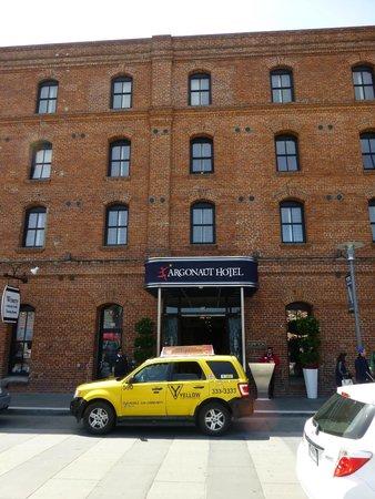 Argonaut Hotel, A Noble House Hotel: Entrance