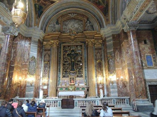 Chiesa di Sant'Ignazio di Loyola: Detalhe interno da Igreja1