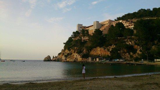 Playa Puerto de San Miguel: Stunning scenery...