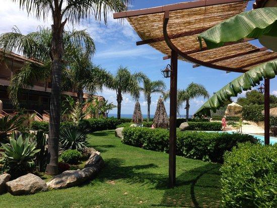 L'Arcobaleno Resort: Blick von der Hotelbar