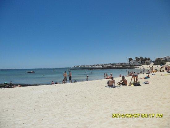 smartline Playa Park: Small beach