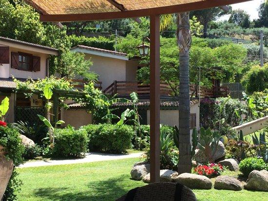 L'Arcobaleno Resort: Blick auf die Appartments