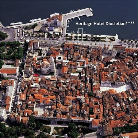 Heritage Hotel Diocletian: Location