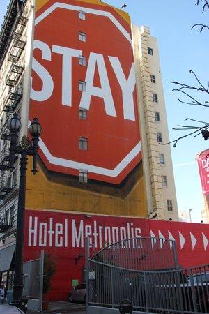 Hotel Metropolis: hotellet