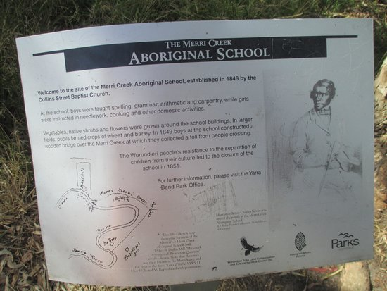 Merri Creek Trail: Site of Aboriginal School