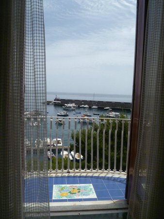 Hotel la Bussola: view from the room