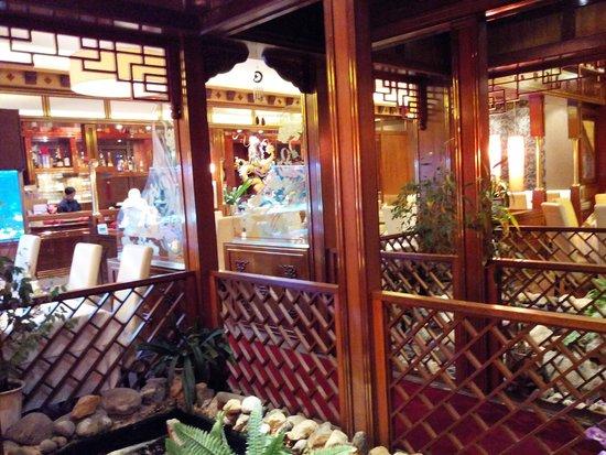 Mai: La salle de restaurant