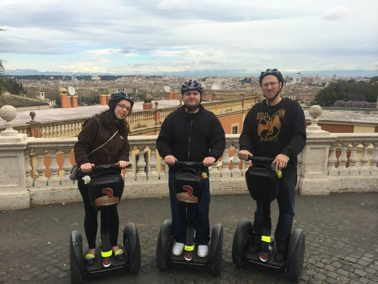Rex-Tours Segway: Rex Tours - Trastevere