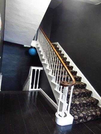Kilkenny Tourist Hostel: The stairs