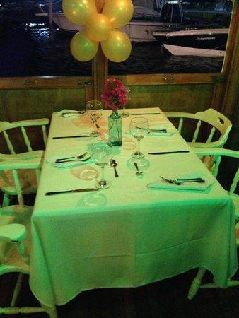 Restaurante La Regatta: Mesa
