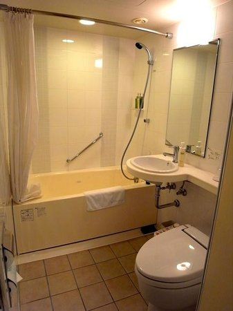 Hotel Gracery Ginza: スタンダートダブルバスルーム