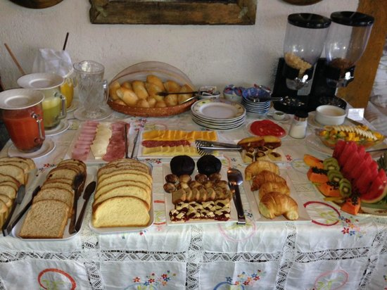 Aquabarra Boutique Hotel & Spa: Part of the breakfast spread