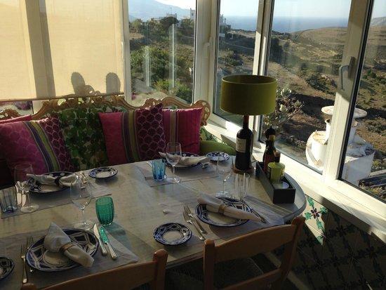 La Cucina di Daniele : Vista da uno dei tavoli