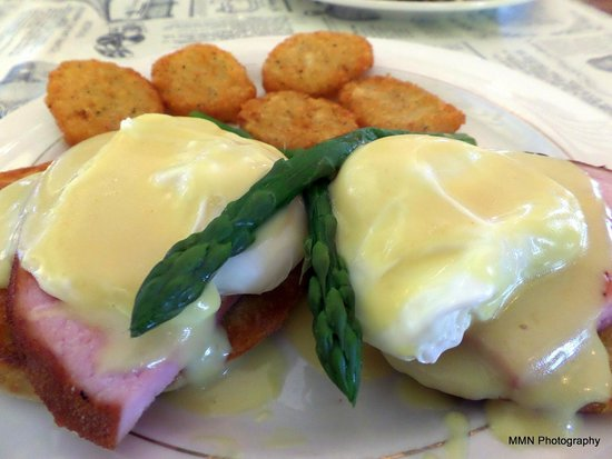 Woodbury Station Cafe: Traditional Benedict - $12.99