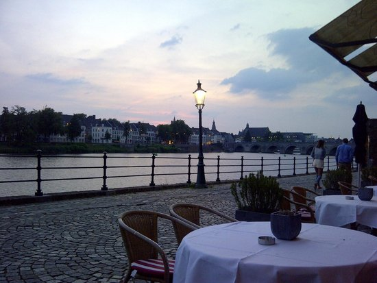 Crowne Plaza Maastricht: Terrace
