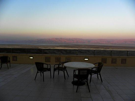The Masada Hostel: la terrazza dell'hotel Masada