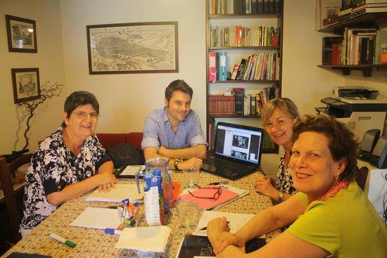 Venice Italian School: Maria, Pat e Lisa con Michele - Giugno 2014