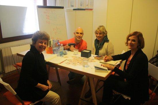 Venice Italian School: Lauren, Roben e Mimi - Maggio 2014