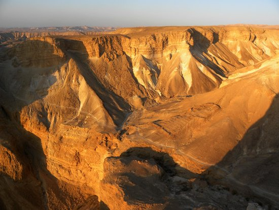 The Masada Hostel: in vetta su masada