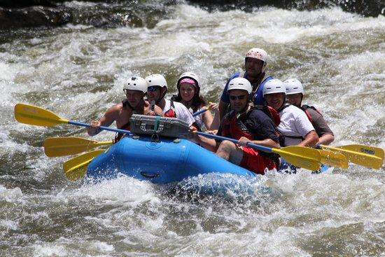 Raft Outdoor Adventures: Entering the rapids