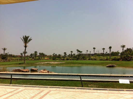Atlas Golf Marrakech : Vue depuis la terrasse