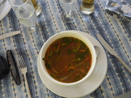 La Parcela: terrific soup