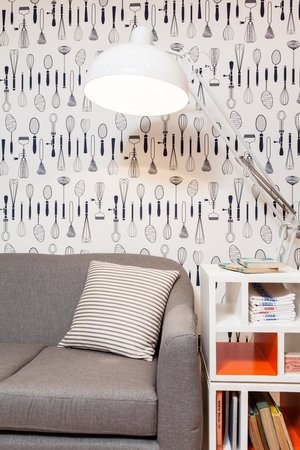 The Creperie: Our Funky Wallpaper