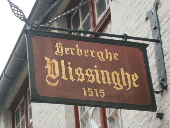 Bed & Breakfast Gallery Yasmine : oudste cafeetje van Brugge 1515