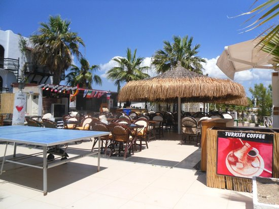 Bitez Han beach bar and resteraunt : Another view of the Bar