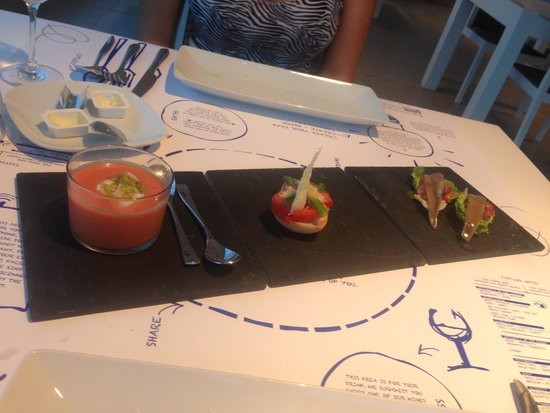DoubleTree by Hilton Hotel Resort & Spa Reserva del Higueron: The amazing food at Al Rolo