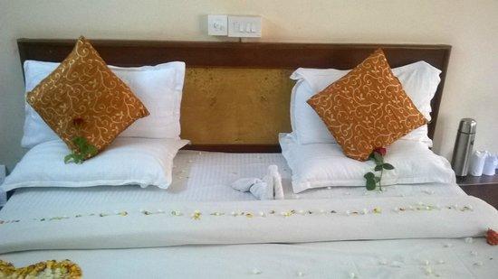 Hillview Munnar: bed