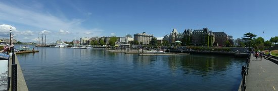 Empress Hotel National Historic Site of Canada: Victoria Harbour