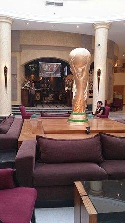 Hilton Hurghada Long Beach Resort: Кубок FIFA