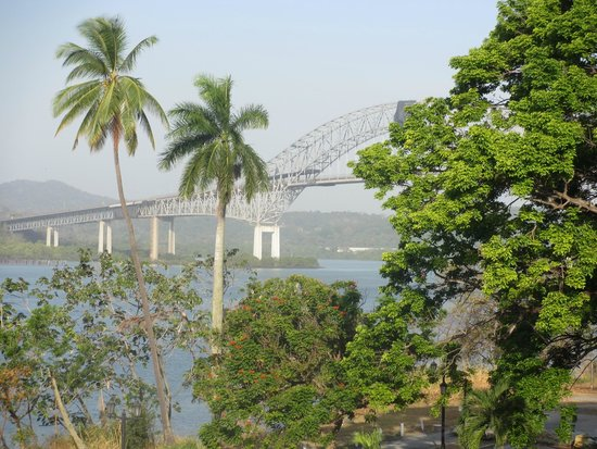 Country Inn & Suites By Carlson, Panama Canal, Panama : Causeway Bridge