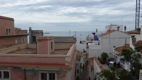 Davallada 9: A view from our room.