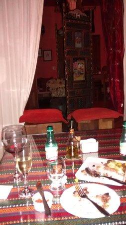 Pousada Casa de Abrahao : jantar maravilhoso