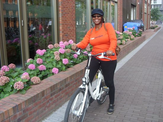 Crowne Plaza Amsterdam South: I had to rent a bike...when in Rome...or when in Amsterdam
