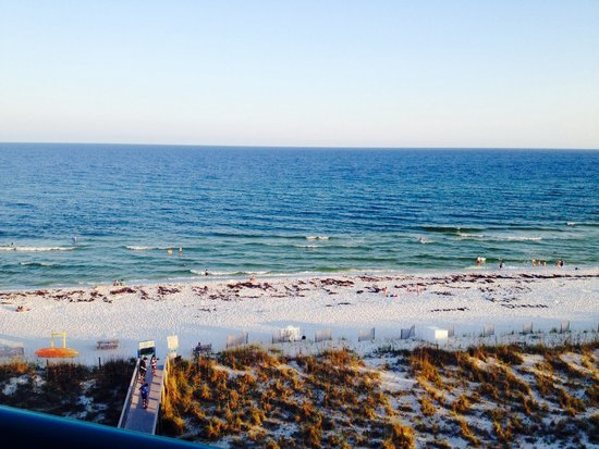 Holiday Inn Express Pensacola Beach: View from the balcony