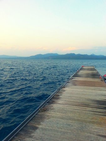 Ionian Blue Bungalows & Spa Resort : Εξέδρα για μπάνιο