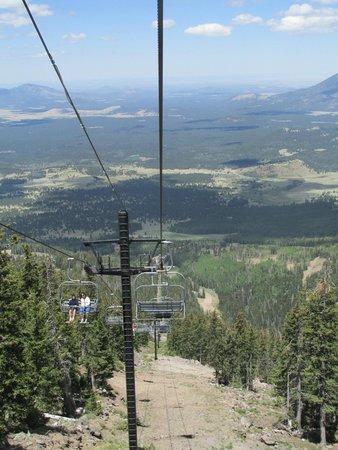 Ski Lift at Arizona Snowbowl