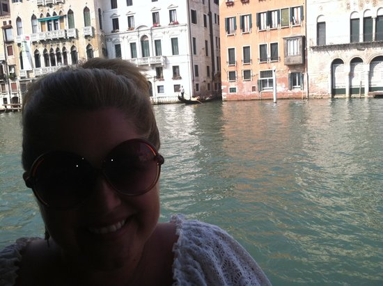 Hotel Canal Grande: The view from the patio