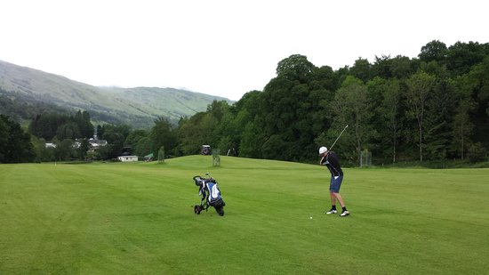 Killin Golf Club: second shot on 'the gully'