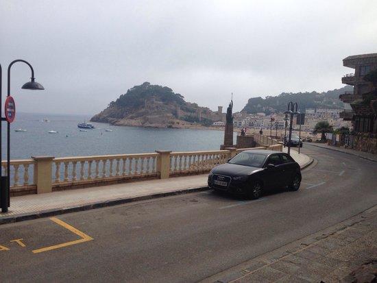 Premier Gran Hotel Reymar & Spa: Uitzicht van uit de receptie