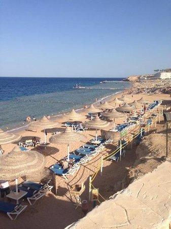Sultan Gardens Resort: the beach area
