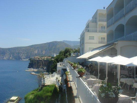 Grand Hotel Riviera : Hotel Terrace