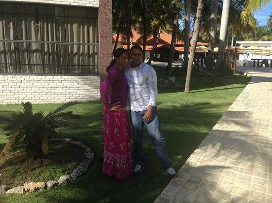 IFA Villas Bavaro Resort & Spa: En el patio