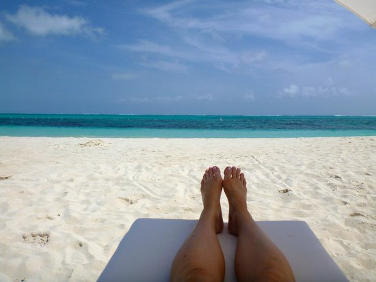 West Bay Club: This was the highlight - stunning Grace Bay