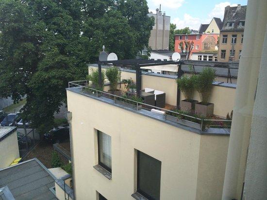 Hotel Domspitzen: The balcony