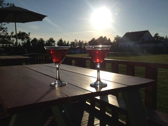 Island Life Cottages: View from our patio